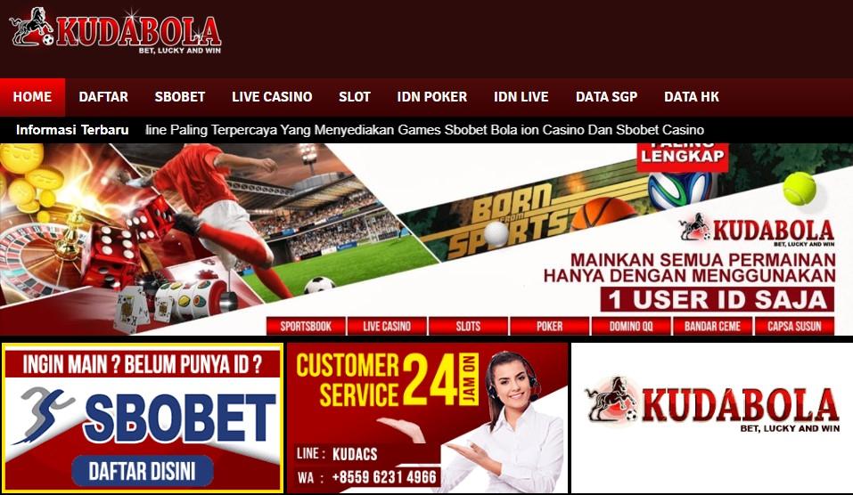 Kudabola Situs Taruhan Judi Online Terbaik & Terpercaya