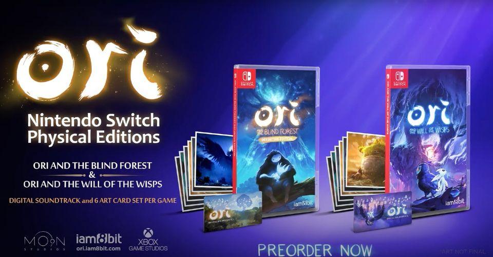 Edisi Fisik Ori Diumumkan Untuk Nintendo Switch
